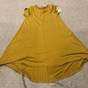 Lularoe Yellow Carly
